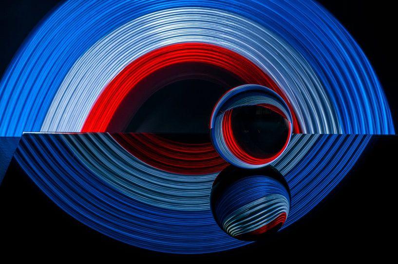 3 kleuren oog van Hans Verhulst