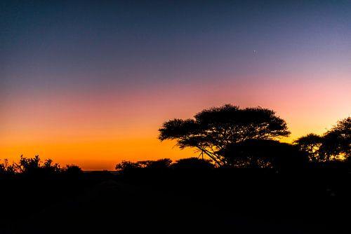 Sunrise near Mozambique