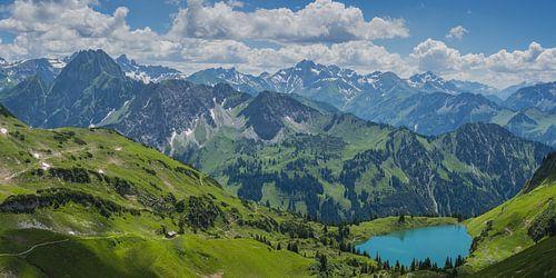 Seealpsee, Allgäu Alps van Walter G. Allgöwer