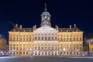 Königspalast beleuchtet von Anton de Zeeuw