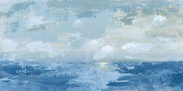 Zilveren blauwe zee, Pamela Munger van Wild Apple