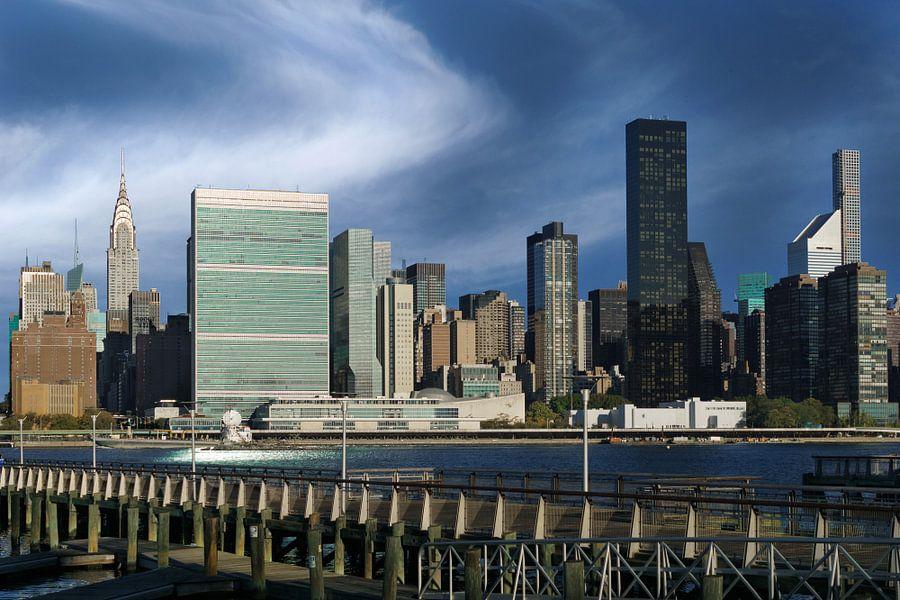 New York  Skyline    Midtown Manhattan van Kurt Krause