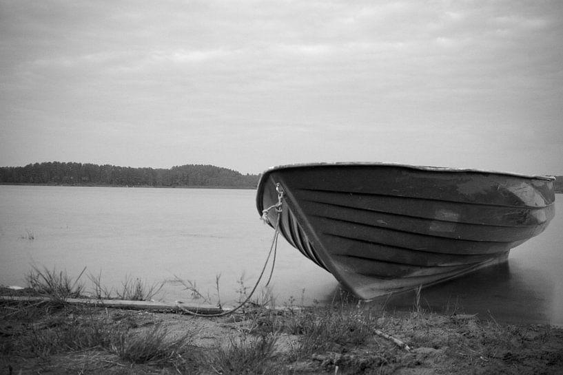 Boot am See van Daniel Cabajewski