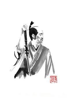 Samurai warten