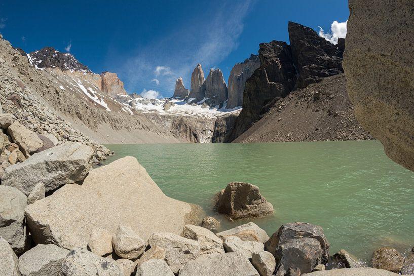 Torres del Paine, de Torens van blauw van Gerry van Roosmalen