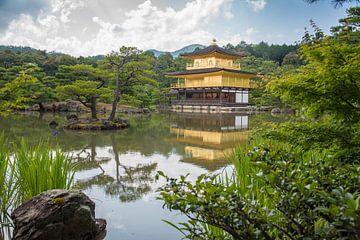 Gouden Tempel in Kyoto Japan van