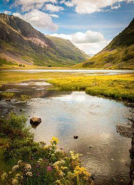 Glencoe-Tal, Schottland von Kim Claessen