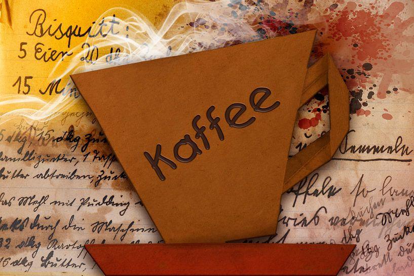 Origami trifft Küche - Kaffee von Erich Krätschmer