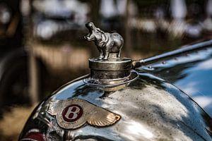 Bentley nijlpaard radiator ornament van