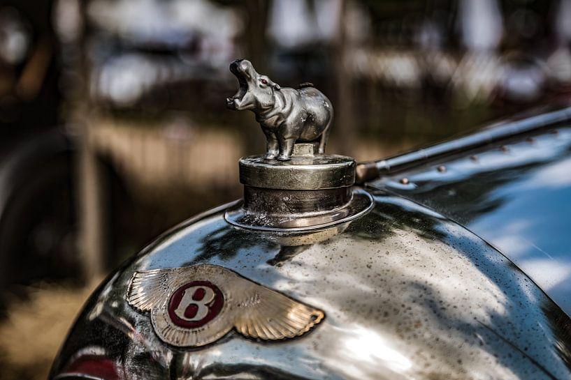 Bentley nijlpaard radiator ornament van autofotografie nederland