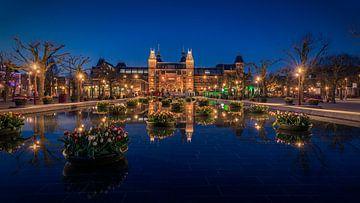 I AMsterdam van