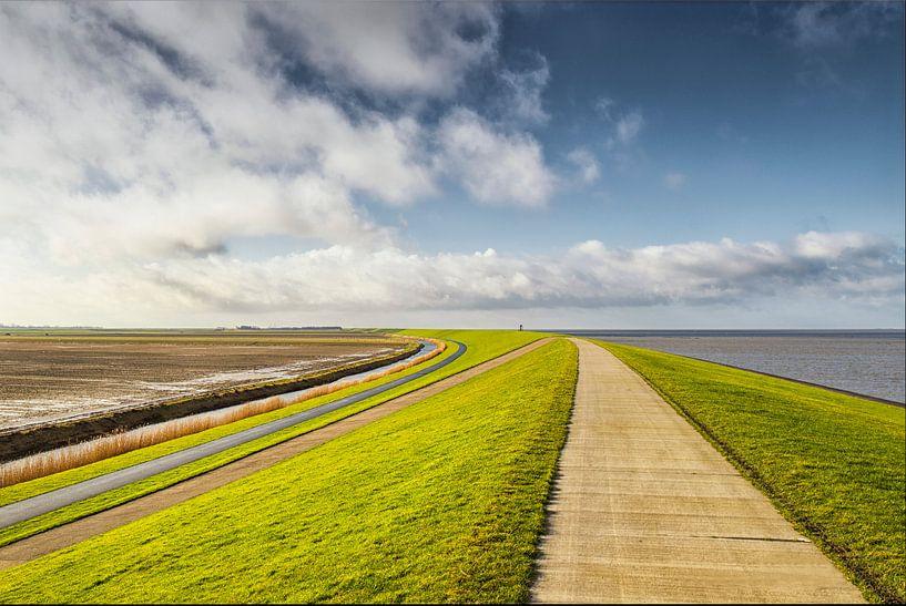 Groningen wat een ruimte! van Marly De Kok