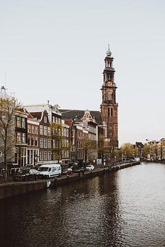 Amsterdam Westerkerk foto van Nadine van der Wielen