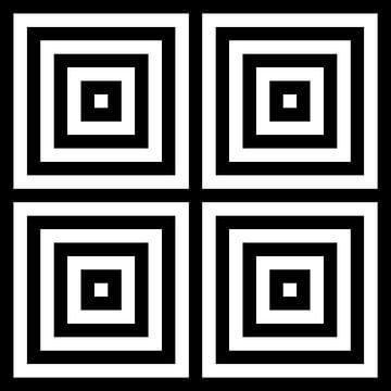 Genesteld in het centrum 02x02 N=4 W van Gerhard Haberern