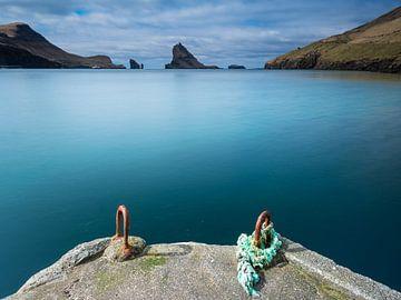 Anleger auf den Färöer Inseln von Denis Feiner