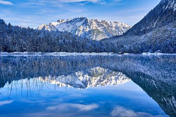 Ferchensee & Lautersee bij Mittenwald van Einhorn Fotografie