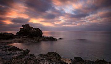 Landschap Costa Blanca, Spanje van Peter Bolman