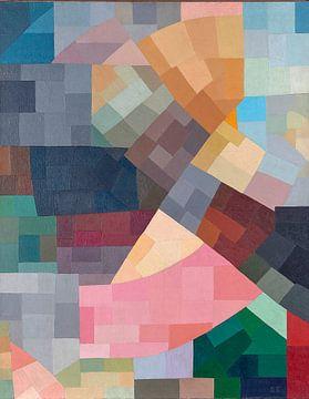 Moderne kunst van Otto Freundlich van Atelier Liesjes