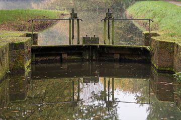 Sluis Mallumse watermolen in Eibergen van Tonko Oosterink