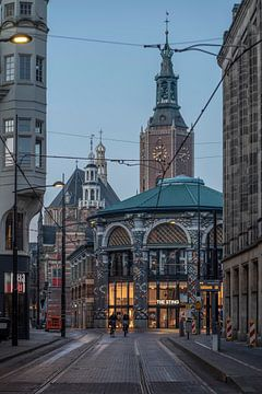Binnenstad Den Haag van Manuuu S