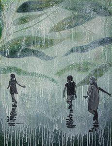A HARD RAIN'S A-GONNA FALL van db Waterman
