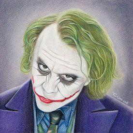 The Joker (Heath Ledger) sur Tamara Witjes