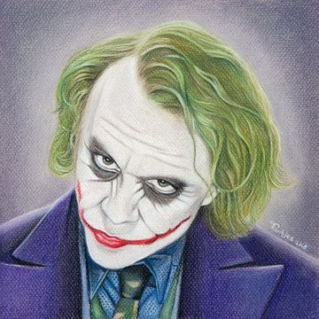 The Joker (Heath Ledger) van Tamara Witjes