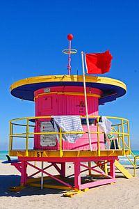 Pink Baywatch Miami Beach