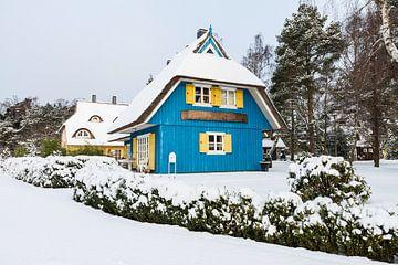 Haus in Born im Winter. von Rico Ködder