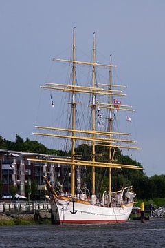 Vollschiff Schulschiff Deutschland van Ingo Rasch