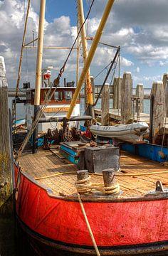 Vissersboot 'Ursus II'  op Terschelling van Tony Unitly