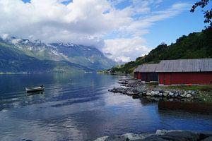Idylle am Hardangerfjord van