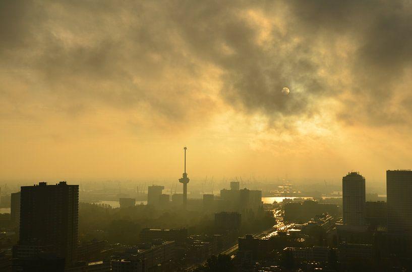 Herfst in Rotterdam van Marcel van Duinen