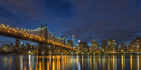 New York Skyline - Queensboro Bridge