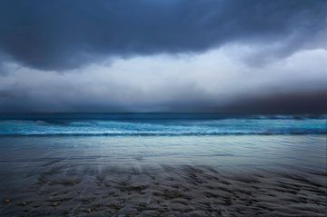 Strand Ile de Ré - Frankrijk van Hannie Kassenaar