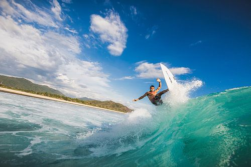 Surfen Sumbawa van Andy Troy