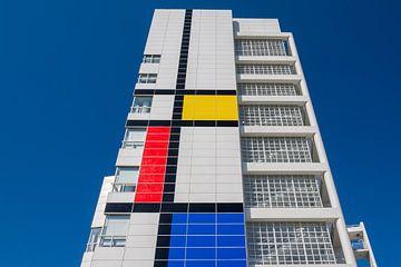 Gevel stadhuis Den Haag van Rinus Lasschuyt Fotografie