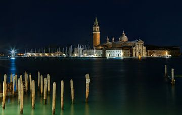 San Giorgio Maggiore bei Nacht von Sabine Wagner