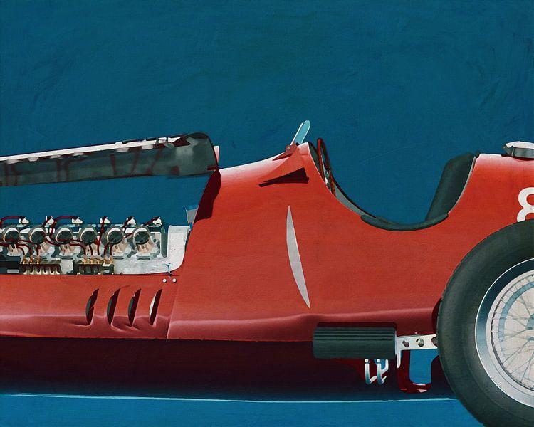 Alfa Romeo 8c 1935 detail van Jan Keteleer