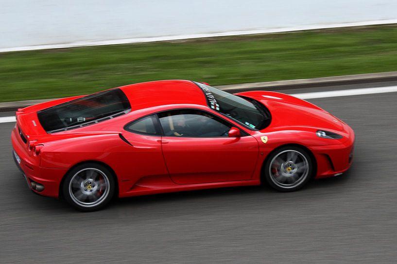 Ferrari Spa Francorchamps van MSP Canvas