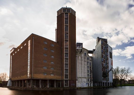 Meelfabriek te Leiden