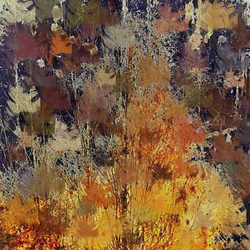 Abstrakter Herbst von Christine Nöhmeier
