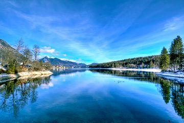 Walchensee met uitzicht van Roith Fotografie