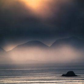 Storm over The Sound of Raasay van Hans den Boer