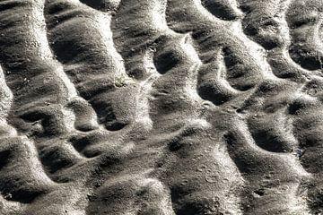 Sandstruktur | Das Wattenmeer | Terschelling- 4 von Marianne Twijnstra-Gerrits