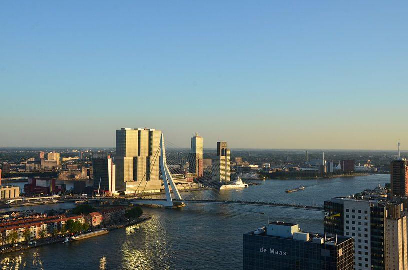 Yacht A in Rotterdam van Marcel van Duinen