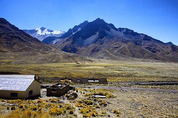 Bergen bij Puno Peru van Yvonne Smits