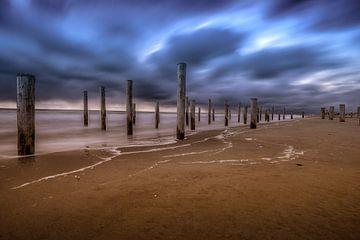 Sunset Beach van Mario Calma