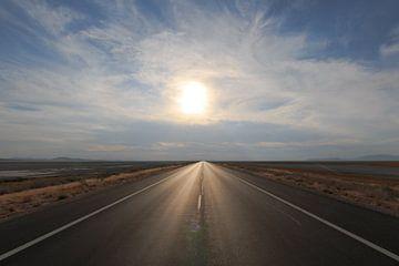 Auf dem Weg nach Antelope Island von Gerben Tiemens