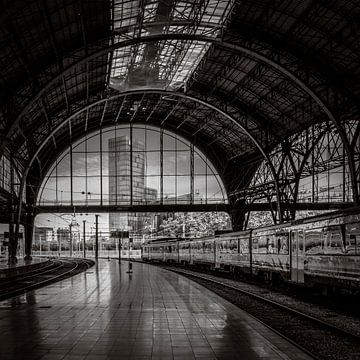 Bahnhof Barcelona Franca von Susan Chapel